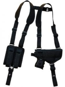 Barsony Nylon Gun Concealment Shoulder Holster
