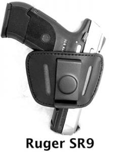 Premium Leather Universal Belt Slide Holster