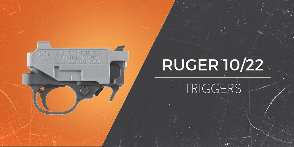 replacement triggers for the ruger 10.22