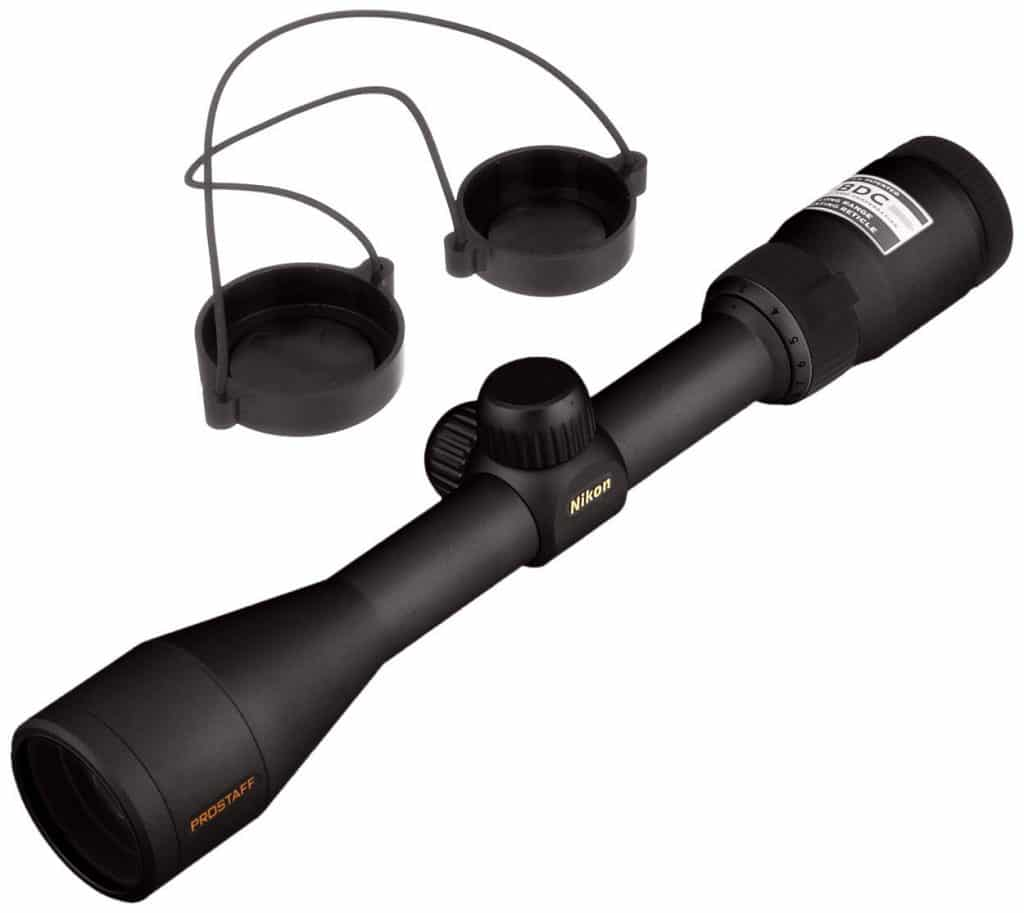 nikon riflescope with lens covers