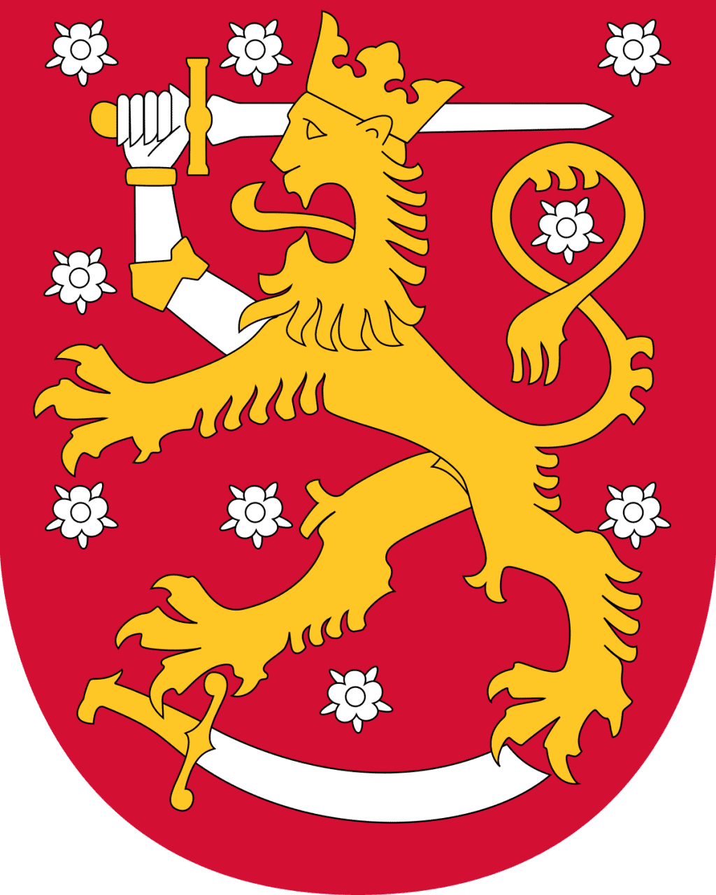 coat of arms of finland, one of the developers of the mosin nagant