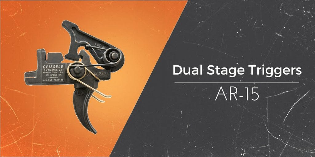 dual stage triggers for the ar15