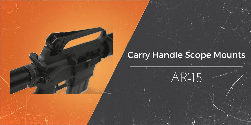 scope mount on carry handles