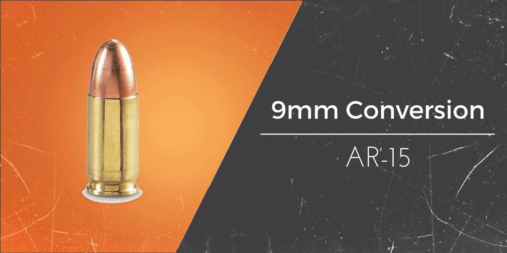 how to convert an ar 15 to 9mm caliber gun mann
