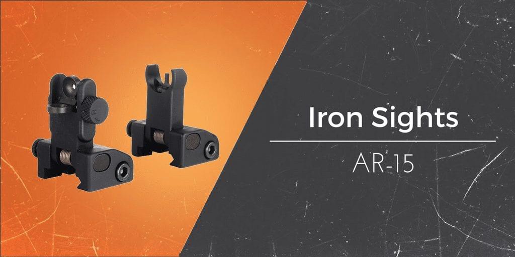 The Best AR-15 Iron Sights (Regular & Flip Up) - Gun Mann