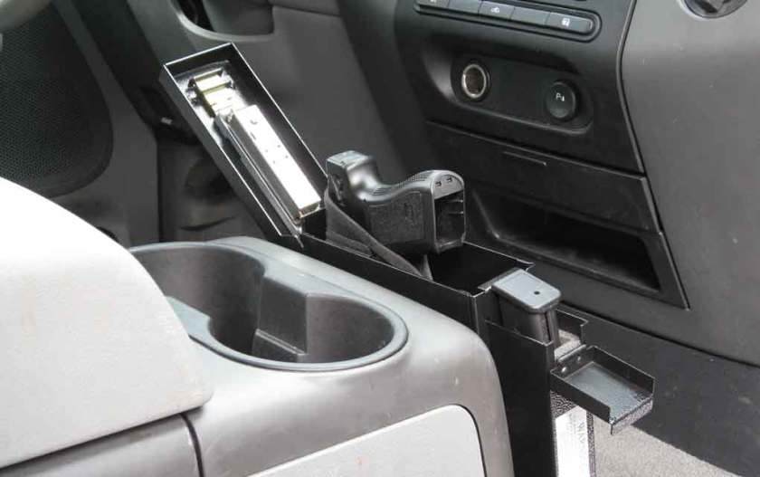 Conceal carry in the car