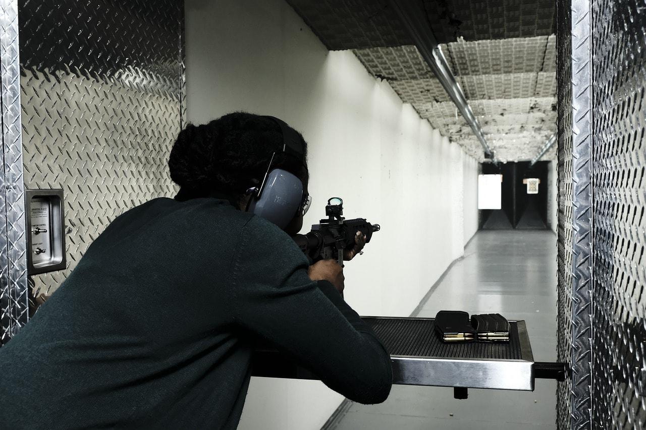 Aiming at Shooting Range